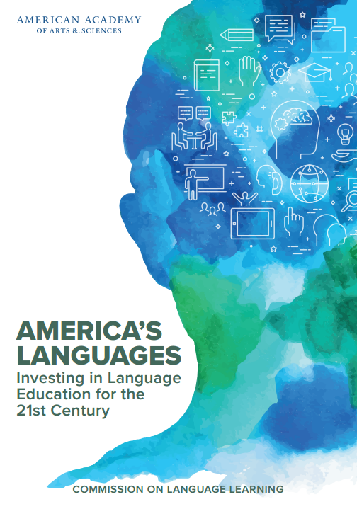 Commission on Language Learning Americas Languages cover